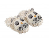 Fuzzy Friends Slippers - White Owl Novelty Slippers